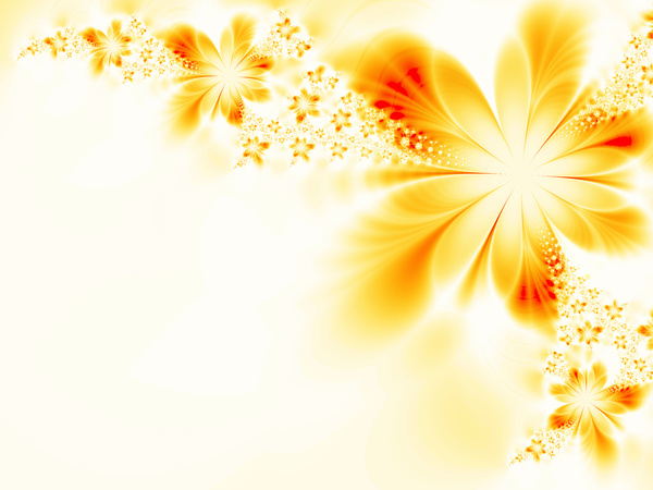 Abstract Yellow Flower Background Stock Photo 02 Free Download