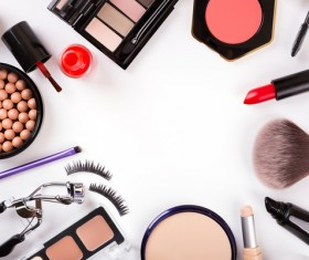All kinds of beauty products Stock Photo