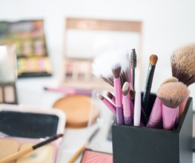 All kinds of cosmetics Stock Photo 01
