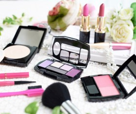 All kinds of cosmetics Stock Photo 02