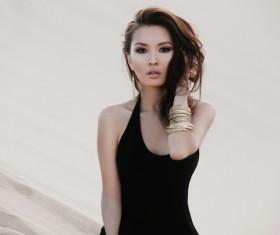Model photo shoot Asian
