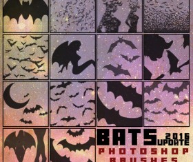 Bat photoshop brushes