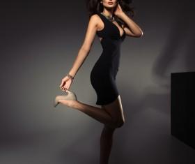 Beautiful elegance woman HD picture