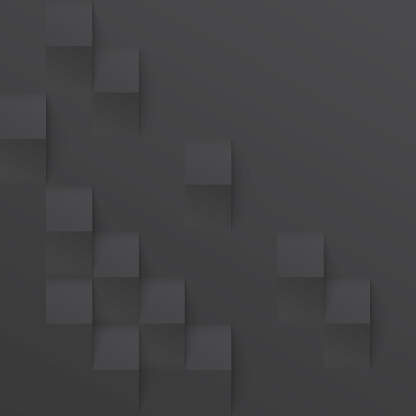 Black square texture background vector 03
