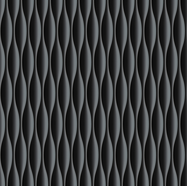 Black wavy texture pattern seamless vector 03