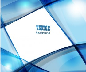 Blue fashion background abstract vector