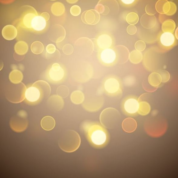 bokeh effect with brown background vector free download