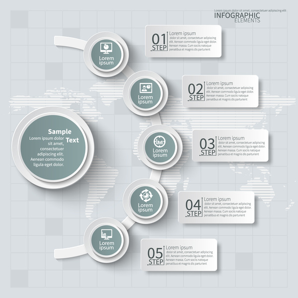 Business Infographic creative design 4627