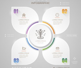 Business Infographic creative design 4632