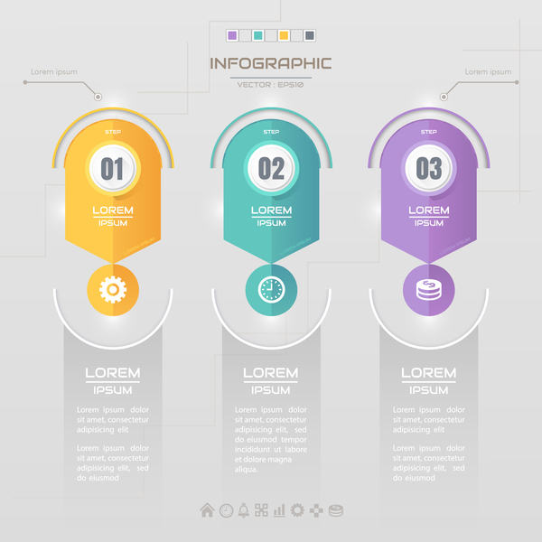 Business Infographic creative design 4633