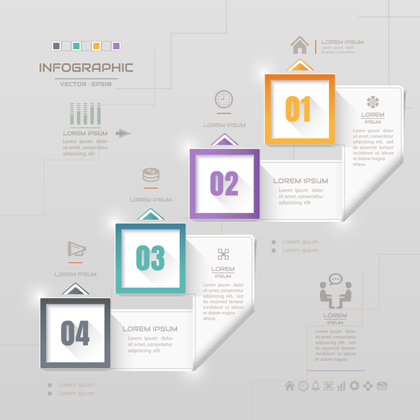 Business Infographic creative design 4635