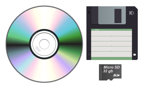 CD and SD template vector