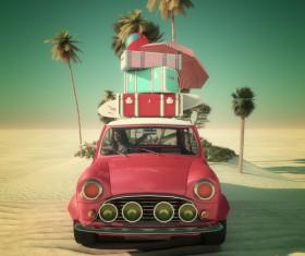 Car Travel Stock Photo 06
