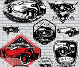Vintage Style Car Advertising Poster Vector 04 Free Download