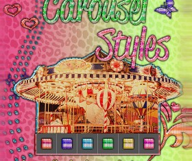 Carousel Photoshop Styles