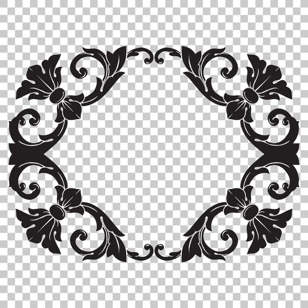 Classical ornament frame vector illustration 02 free download