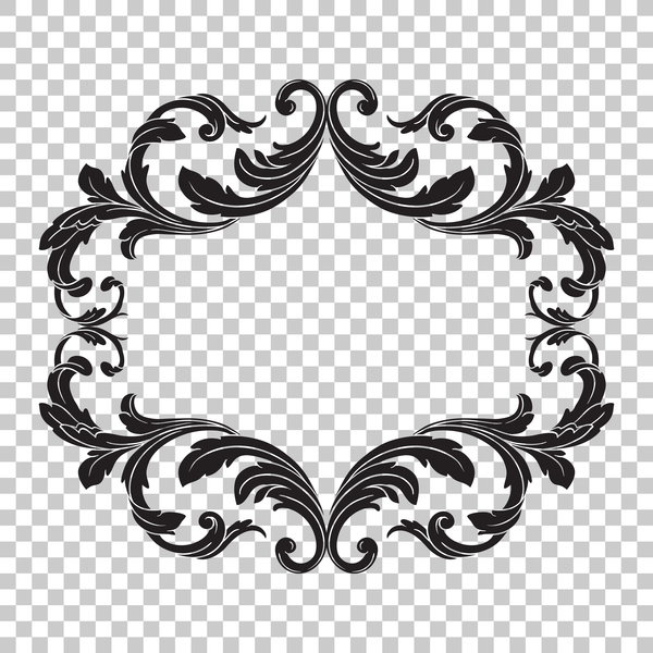 Classical ornament frame vector illustration 07 free download