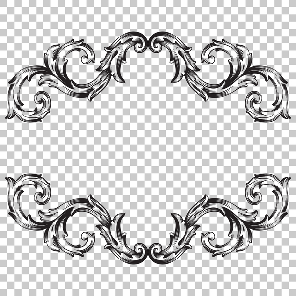 Classical ornament frame vector illustration 10 free download