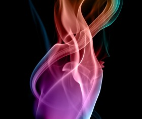 Colorful Smoke Stock Photo 07