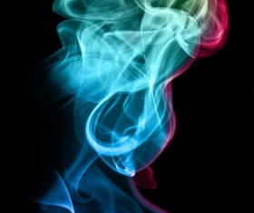 Colorful Smoke Stock Photo 08