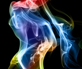 Colorful Smoke Stock Photo 09