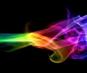 Colorful Smoke Stock Photo 11