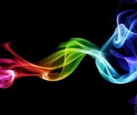 Colorful Smoke Stock Photo 12