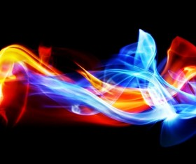 Colorful Smoke Stock Photo 15