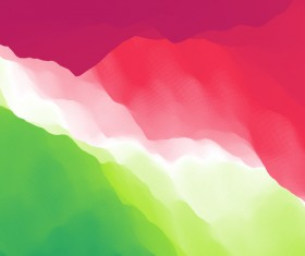 Colorful watercolor blurred background vector 01