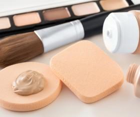 Cosmetic foundation cream Stock Photo