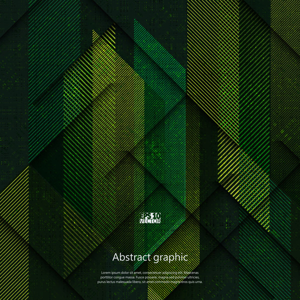 Dark geometric textures pattern vector 02