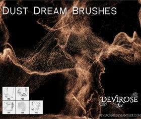 Dust Dream photoshop brushes