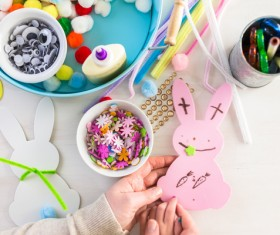 Easter paper craft Stock Photo 10
