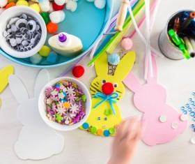 Easter paper craft Stock Photo 11