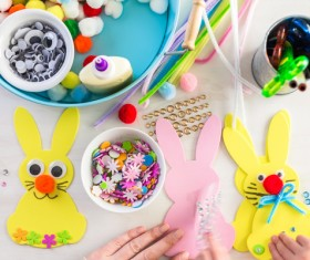 Easter paper craft Stock Photo 12