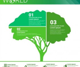 Ecology world infographics design vector 12
