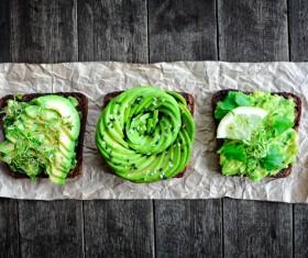 Fancy vegetable platter Stock Photo