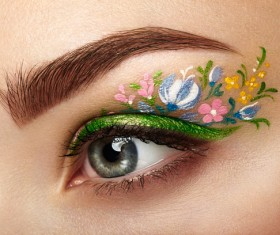 Fashion Art Eye Makeup HD picture 01