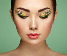 Fashion Art Eye Makeup HD picture 03