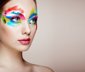 Fashion Art Eye Makeup HD picture 04