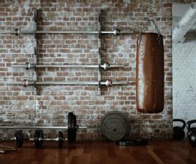 Fitness room Stock Photo 06