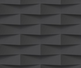Geometric patterns texture black vector 01