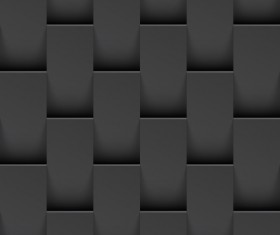 Geometric patterns texture black vector 03