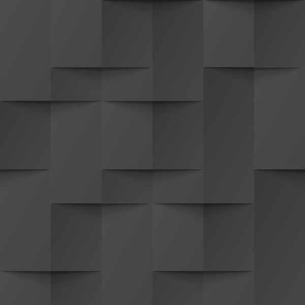 Geometric texture with black background vector