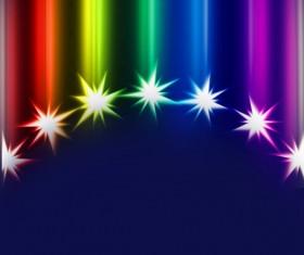 Glitter trail stars backgrounds Stock Photo 02