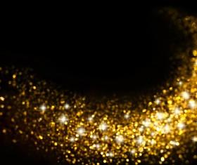 Glitter trail stars backgrounds Stock Photo 05