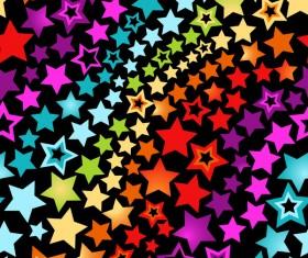 Glitter trail stars backgrounds Stock Photo 06