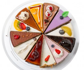 Gourmet dessert platter HD picture