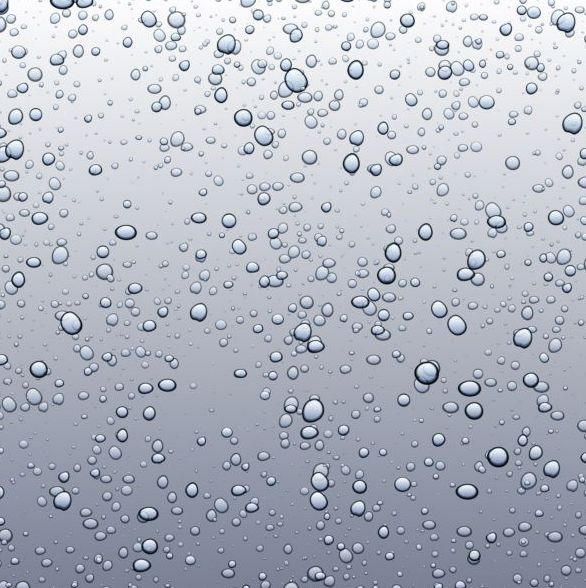 Gray background with bubbles vector 02