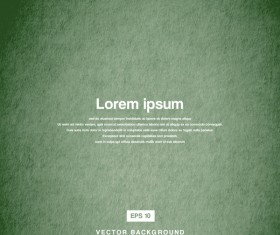 Green old paper texture background vector